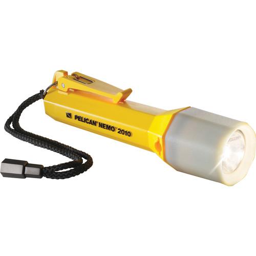 Pelican Nemo 2010N LED Flashlight with Twisting Lens Shroud (Solar Yellow)