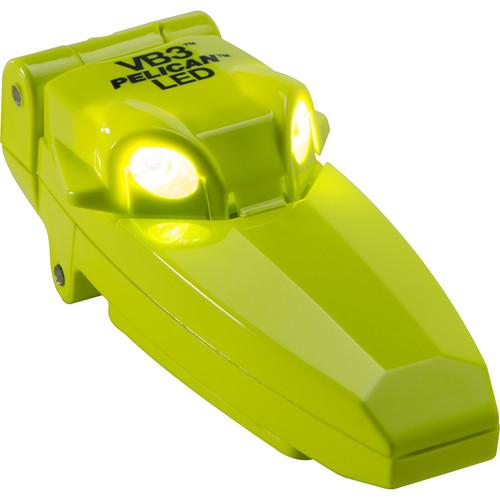 Pelican Versa Bright 2220B-VB3 LED Clip and Pivot Flashlight (Yellow)