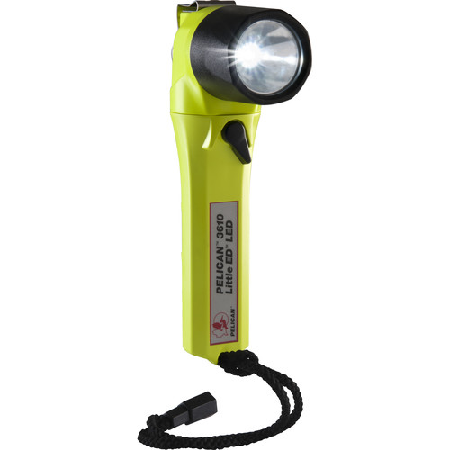 Pelican 3610 Little Ed LED Flashlight (Yellow)