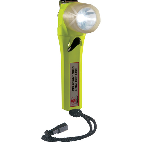 Pelican 3610 Little Ed LED Flashlight (Yellow with Photoluminescent Shroud)
