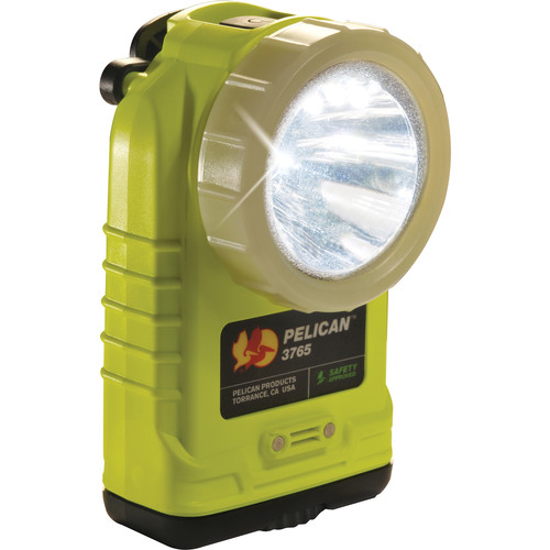 Pelican 3765 Right Angle Flashlight (Yellow with Photoluminescent Shroud)