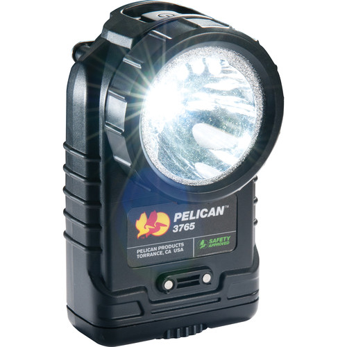 Pelican 3765 Rechargeable Right-Angle LED Flashlight (Black)