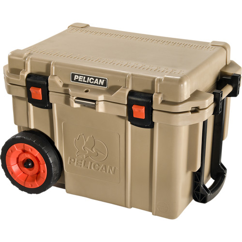 Pelican 45QW Wheeled Cooler (Tan)