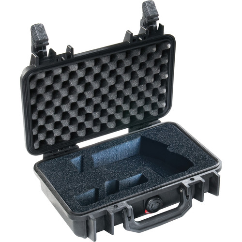 Pelican 472-PPWC-CPC Single Pistol Case with Foam Insert (Black)