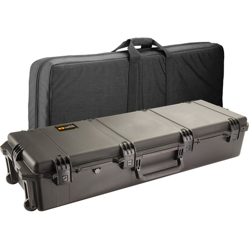 Pelican 472-PWC-DW3220 FieldPak Rifle Case with Soft Shell (Black/Black)
