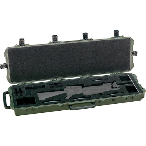 Pelican 472-PWC-M16 iM3300 Hard Case for One AR15 Type Rifle (Black)