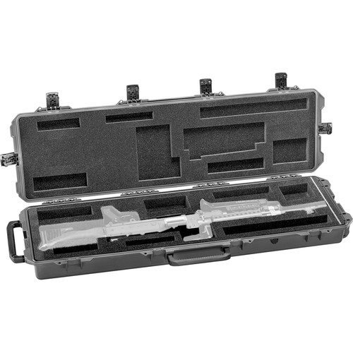Pelican 472-PWC-M16 iM3300 Hard Case for One M240 Machine Gun (Black)