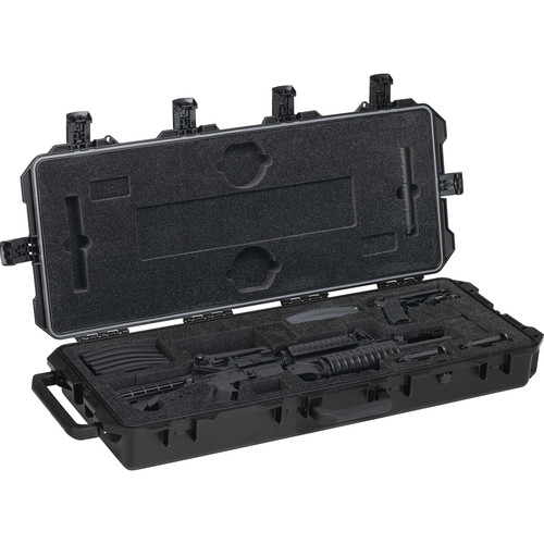 Pelican 472-PWC-M4 Hard Rifle Case for One M4 Rifle and One M9 Pistol (Black)