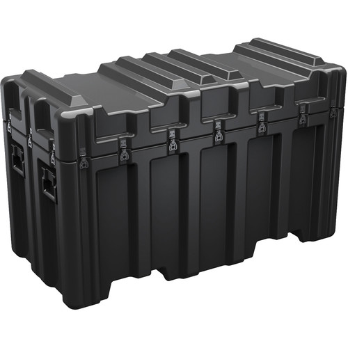 Pelican AL5424-2306-RPC Single Lid Trunk-Style Case (Casters, Black)