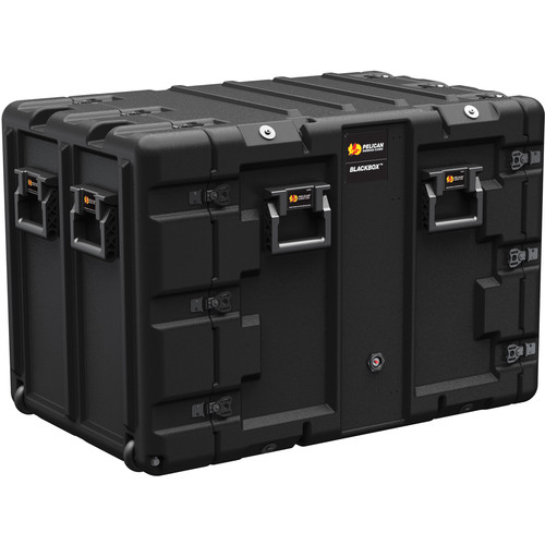 Pelican BLACKBOX-11U BlackBox Rackmount Case (Metric Threads, 11 RU)