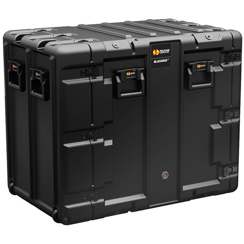 Pelican BLACKBOX-14U BlackBox Rackmount Case (Metric Threads, 14 RU)