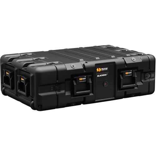 Pelican BLACKBOX-3U BlackBox Rackmount Case with 10-32 Threads (3 RU)