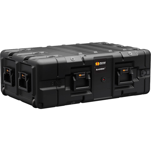 Pelican BLACKBOX-4U BlackBox Rackmount Case with 10-32 Threads (4 RU)