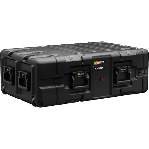 Pelican BLACKBOX-4U BlackBox Rackmount Case (Metric Threads, 4 RU)