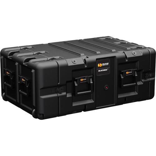Pelican BLACKBOX-5U BlackBox Rackmount Case (Metric Threads, 5 RU)