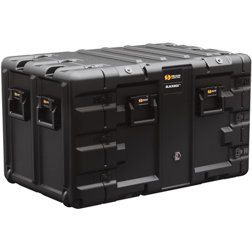 Pelican BLACKBOX-9U BlackBox Rackmount Case (Metric Threads, 9 RU)