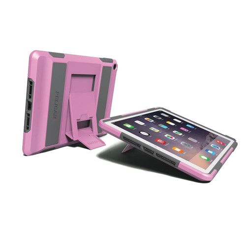 Pelican ProGear Voyager Tablet Case for Apple iPad mini 1, 2, or 3 (Pink and Gray)