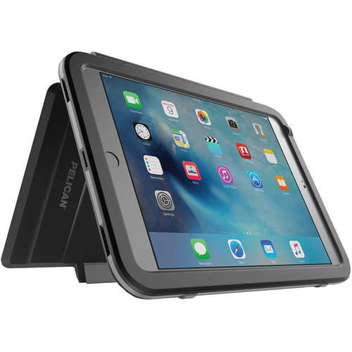Pelican Vault Series Case for iPad mini 4 (Black/Gray)