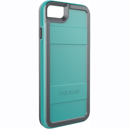 Pelican Protector Case for iPhone 7 (Aqua/Gray)