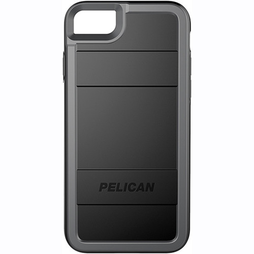 Pelican Protector Case for iPhone 7 (Black/Gray)