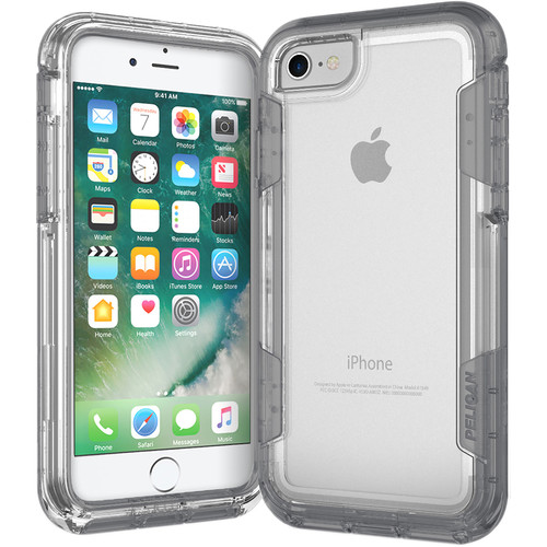 Pelican Voyager Case for iPhone 7 (Clear/Gray)