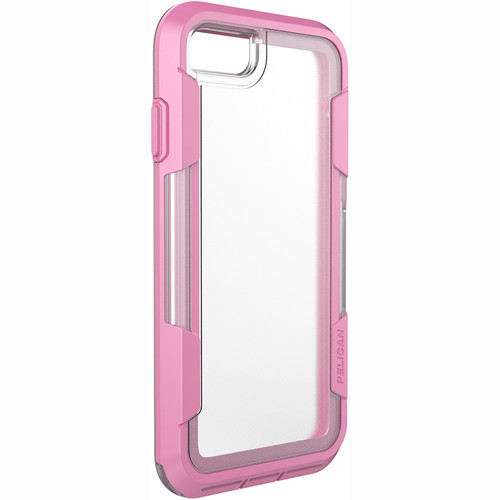Pelican Voyager Case for iPhone 7 (Clear/Pink)