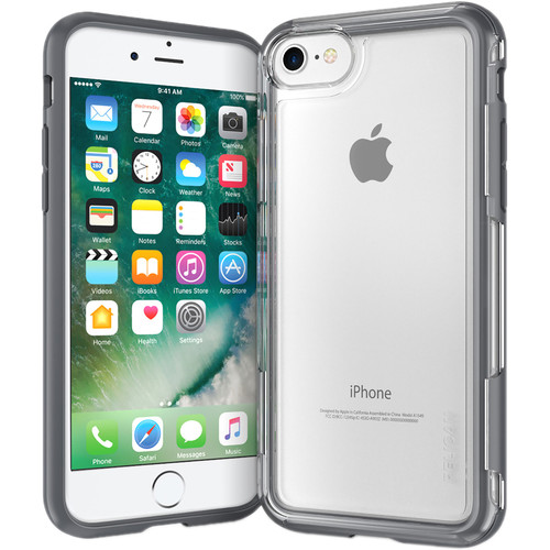 Pelican Adventurer Case for iPhone 7 (Clear/Gray)