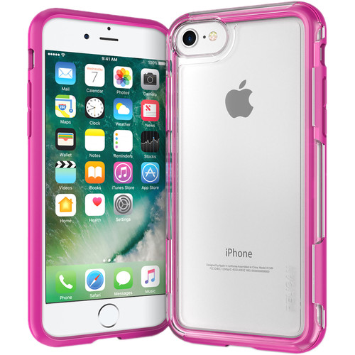 Pelican Adventurer Case for iPhone 7 (Clear/Pink)