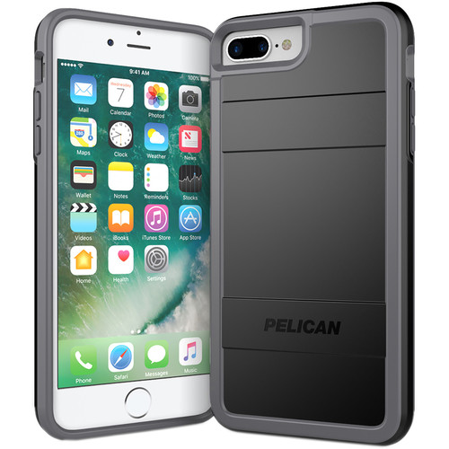 Pelican Protector Case for iPhone 7 Plus (Black/Gray)