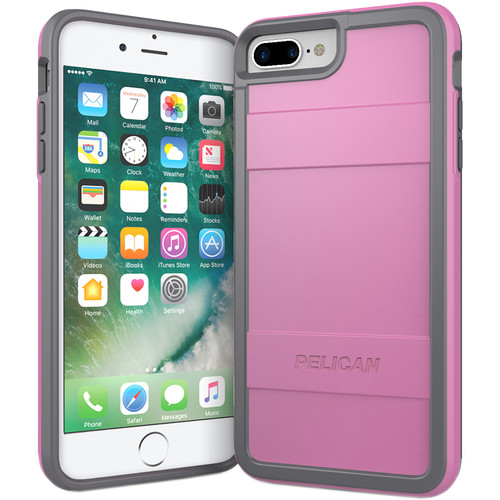 Pelican Protector Case for iPhone 7 Plus (Pink/Gray)
