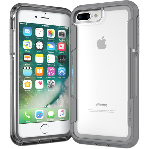 Pelican Voyager Case for iPhone 7 Plus (Clear/Gray)