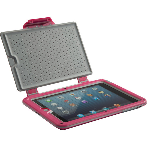 Pelican ProGear Vault Series Case for iPad mini (Magenta / Gray)