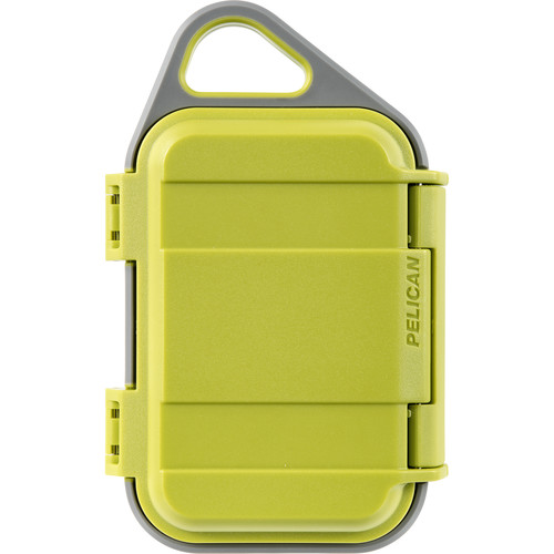 Pelican G10 Personal Utility Go Case (Lime/Gray)