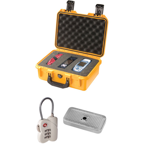 Pelican iM2100 Storm Case with Foam Set, TSA Lock, and Desiccant Gel (B&H Kit)