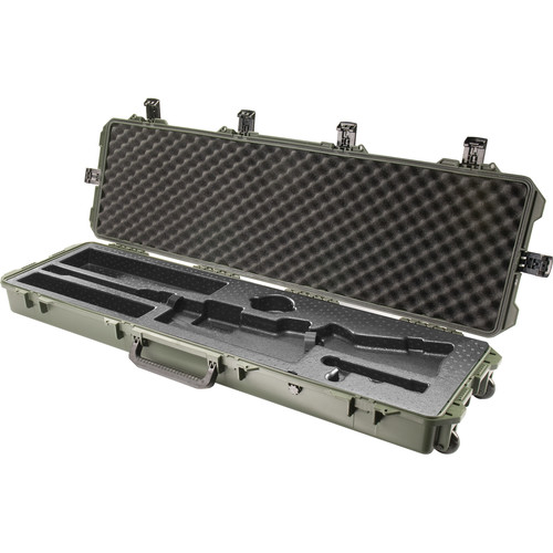 Pelican iM3300 Storm Case with Molded Foam Interior for Rifle (Olive Drab Green)