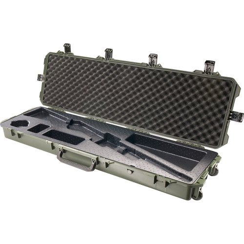 Pelican iM3300 Storm Case with Molded Foam Interior for Shotguns (Olive Drab Green)