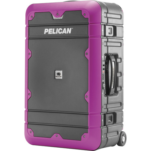 Pelican BA22 Elite Carry-On Luggage (Gray with Purple)