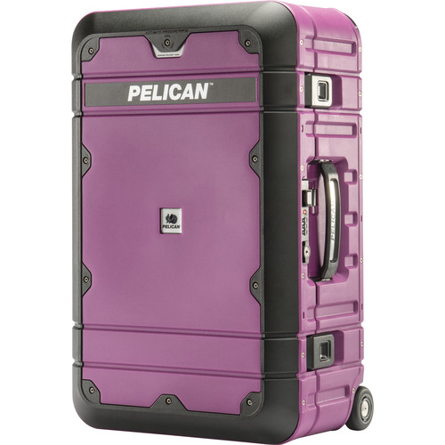 Pelican BA22 Elite Carry-On Luggage (Plum with Black)