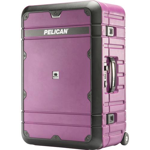 Pelican BA27 Elite Weekender Luggage (Plum & Black)