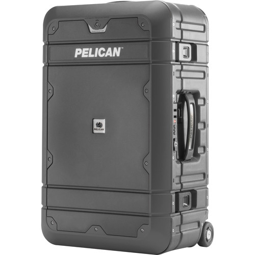 Pelican EL22 Elite Carry-On Luggage with Enhanced Travel System (Gray and Black)