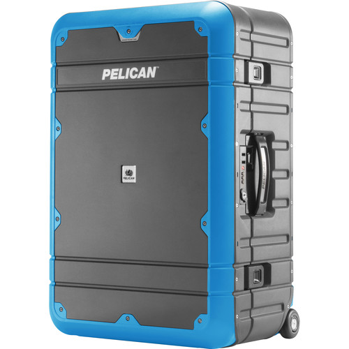 Pelican EL27 Elite Weekender Luggage with Enhanced Travel System (Gray and Blue)
