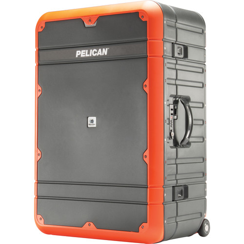 Pelican EL30 Elite Vacationer Luggage with Enhanced Travel System (Gray and Orange)