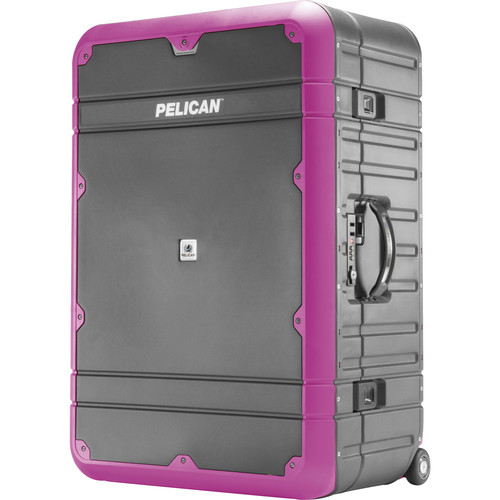 Pelican EL30 Elite Vacationer Luggage with Enhanced Travel System (Gray and Purple)