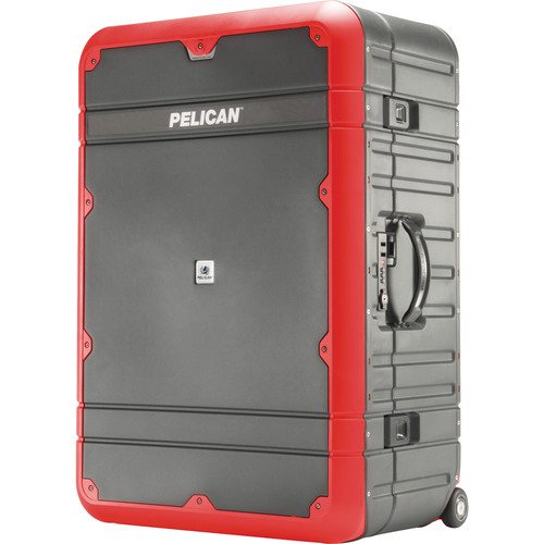 Pelican EL30 Elite Vacationer Luggage with Enhanced Travel System (Gray and Red)