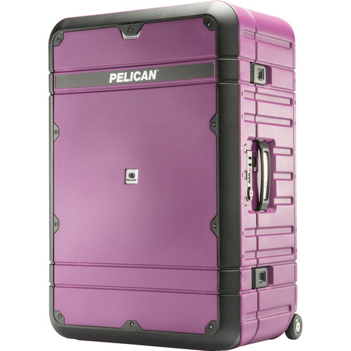 Pelican EL30 Elite Vacationer Luggage with Enhanced Travel System (Plum and Black)