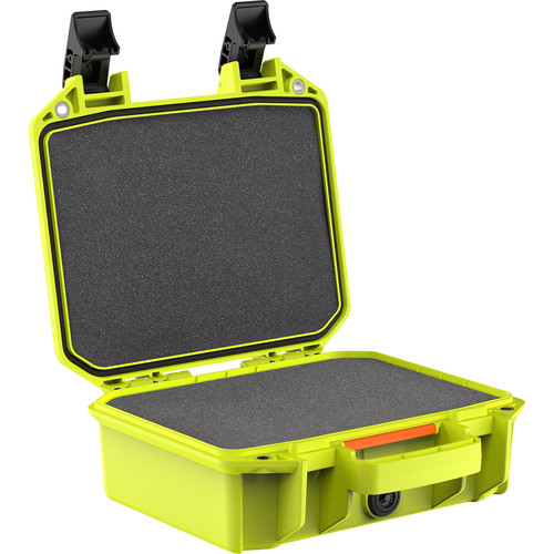 Pelican Vault V100 Small Case with Foam Insert (Bright Green)