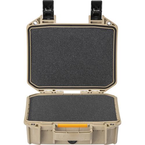 Pelican Vault V100 Small Case with Foam Insert (Tan)