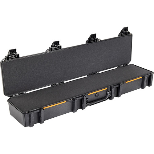 Pelican V770 Single Rifle Case with Logo and Foam (Black)