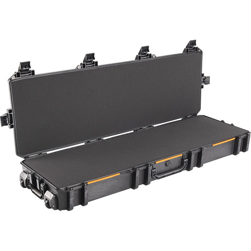 Pelican V800 Wheeled Hard Tactical Rifle Case with Foam Insert (Black)