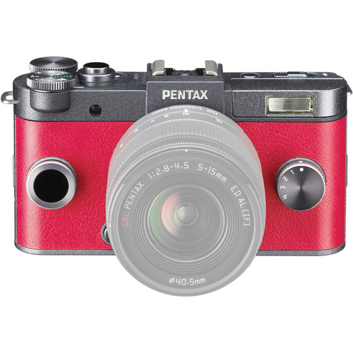 Pentax Q-S1 Mirrorless Digital Camera (Body Only, Gunmetal)